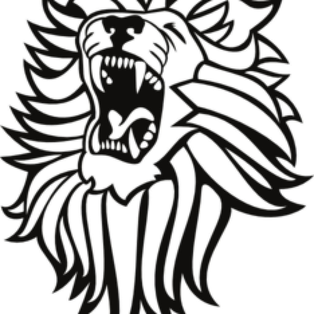 Roaring Lion Clipart Black And White - Cliparts.co