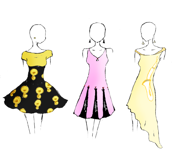 Cartoon Prom Dresses