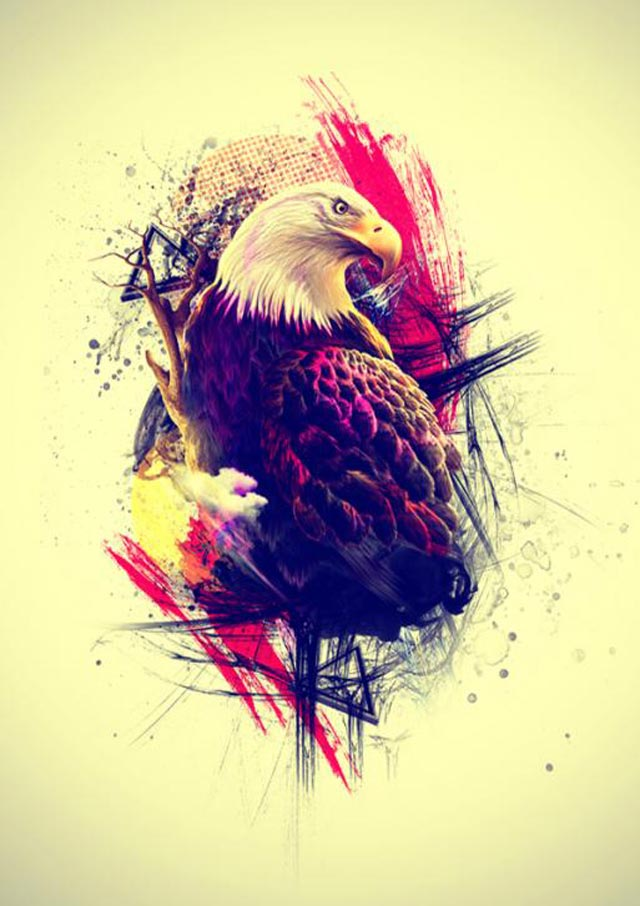 graphic artwork eagle designer clipart inspiration artist cliparts clip web tattoo colossal library speckyboy