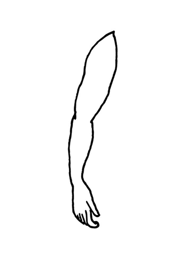 arm coloring pages - photo#7