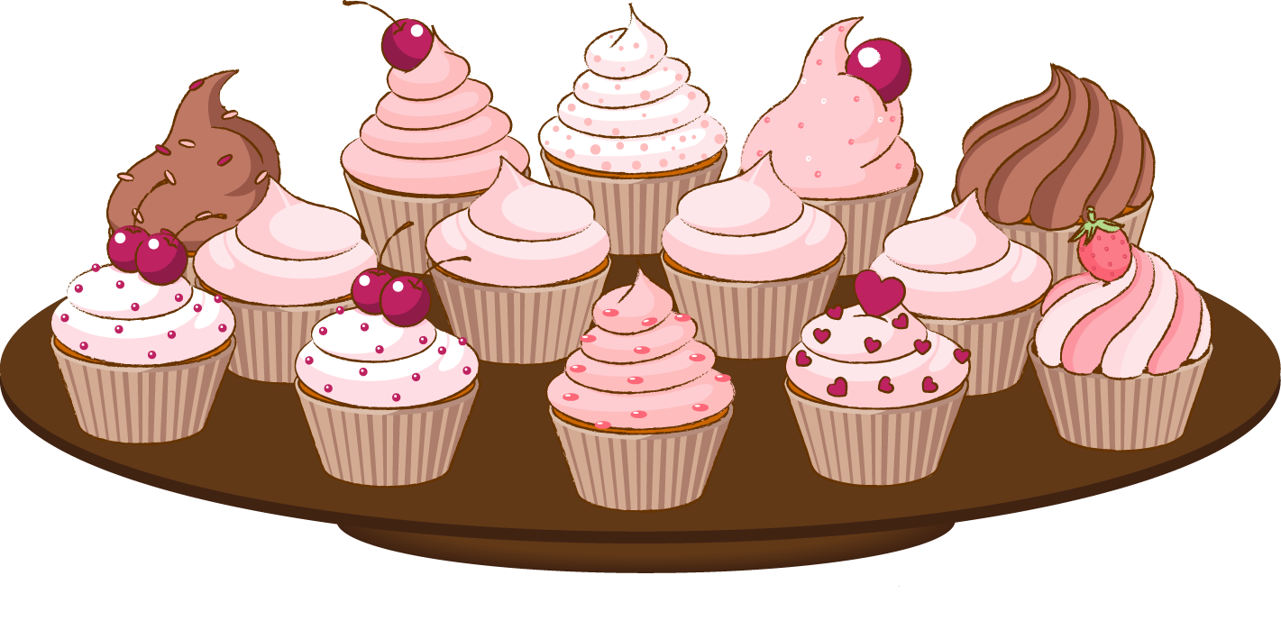 Cupcake Clipart 6819 furthermore Tarta Mariposas Fondant 2 further Animated Cupcake Pictures moreover Cupcake Cartoon Clip Art furthermore Silver Rose Flower Stud Earrings. on cute cupcakes