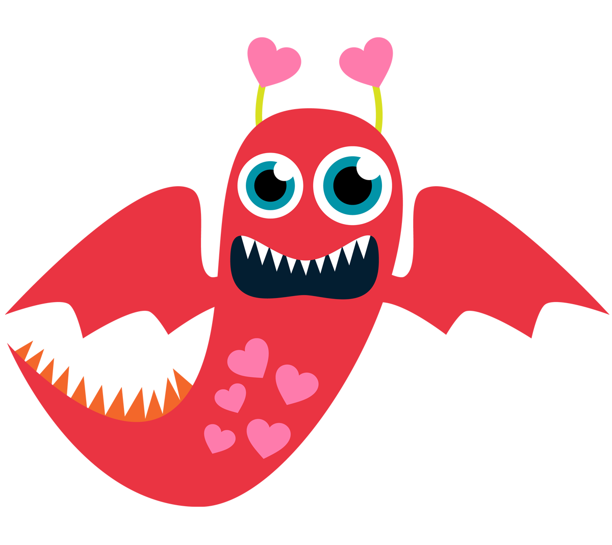Red Monster Clipart | Clipart Panda - Free Clipart Images