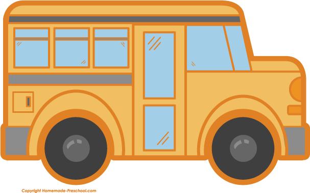 bus clip arts