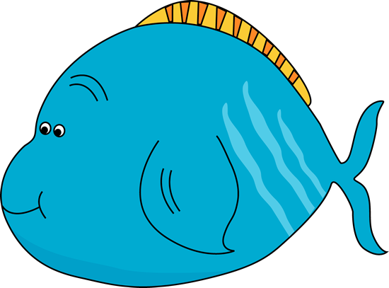 Cute Fat Fish Clip Art - Cute Fat Fish Image