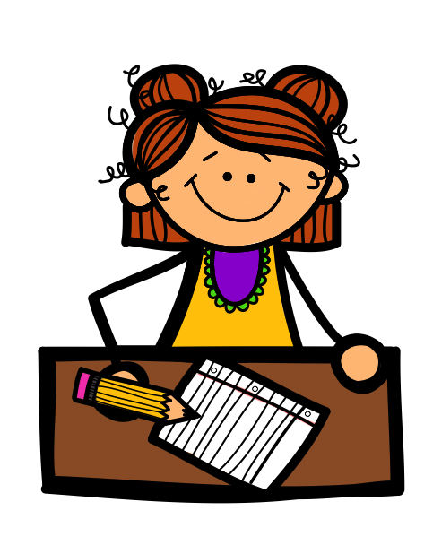 Girl Student Thinking Clipart | Clipart Panda - Free Clipart Images