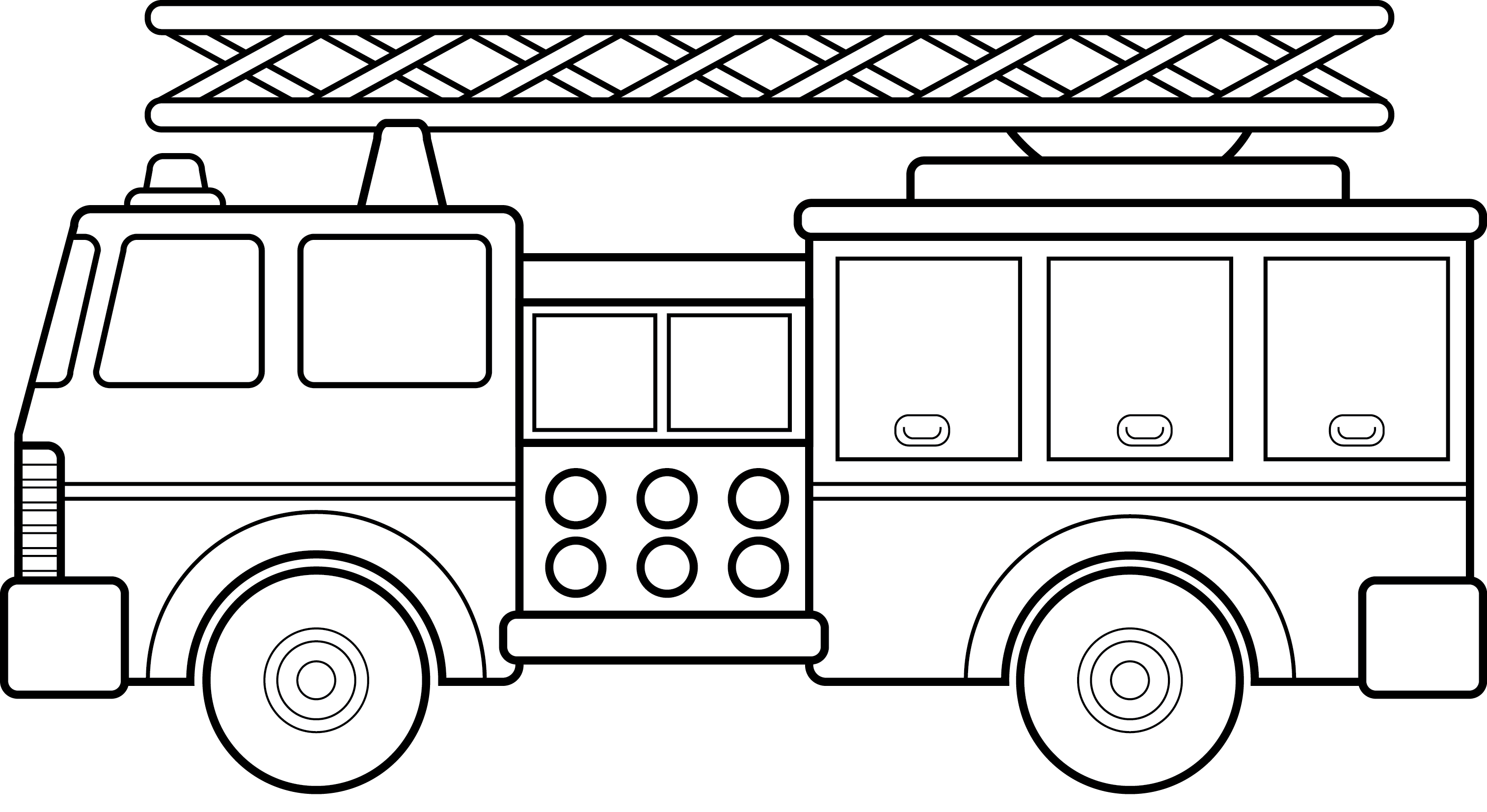 free clipart images fire trucks - photo #44