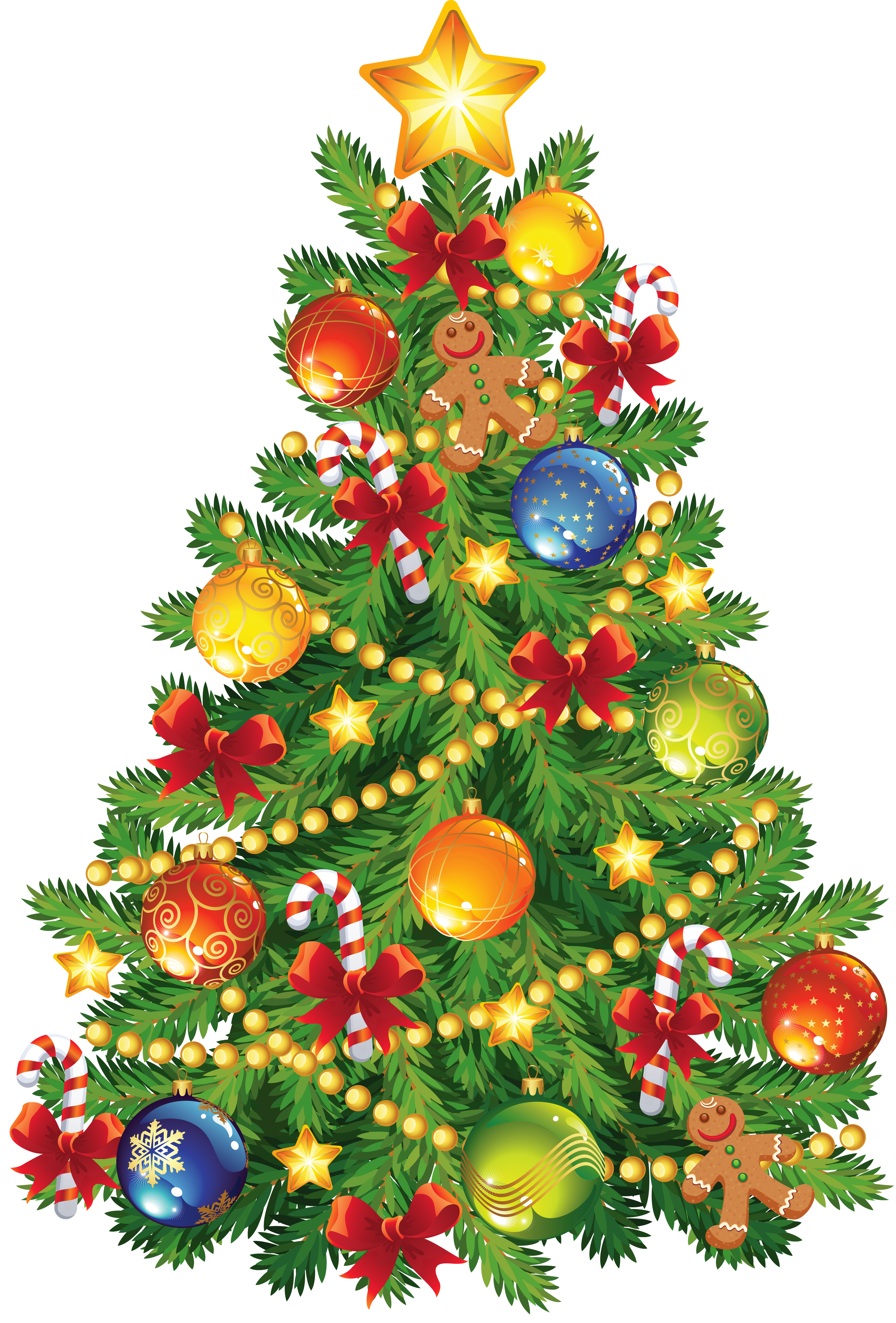 Xmas Stuff For > Christmas Trees Clipart