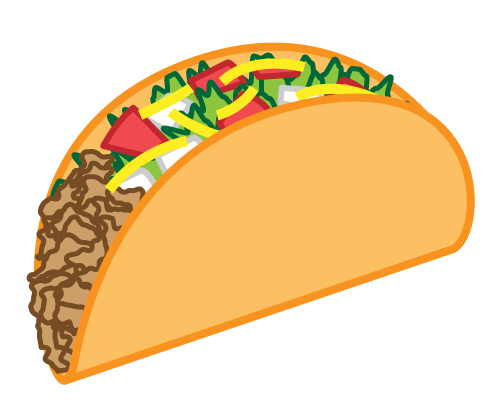 Free to Use & Public Domain Taco Clip Art