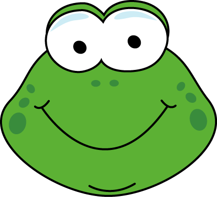 Cartoon Frog Face Clip Art - Cartoon Frog Face Image