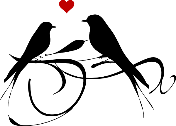 Love Birds Clipart - Cliparts.co