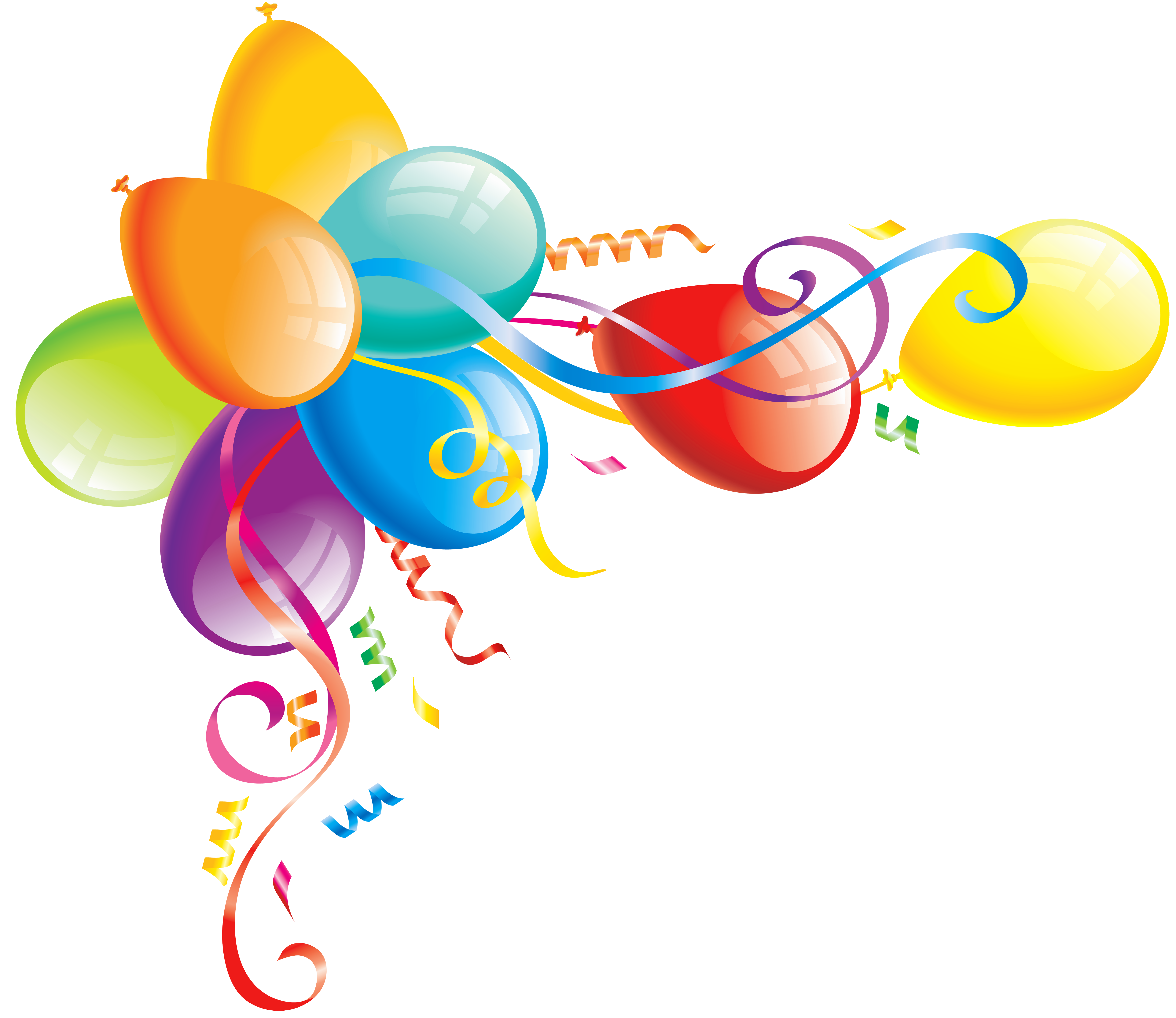 free balloon clip art pictures - photo #34