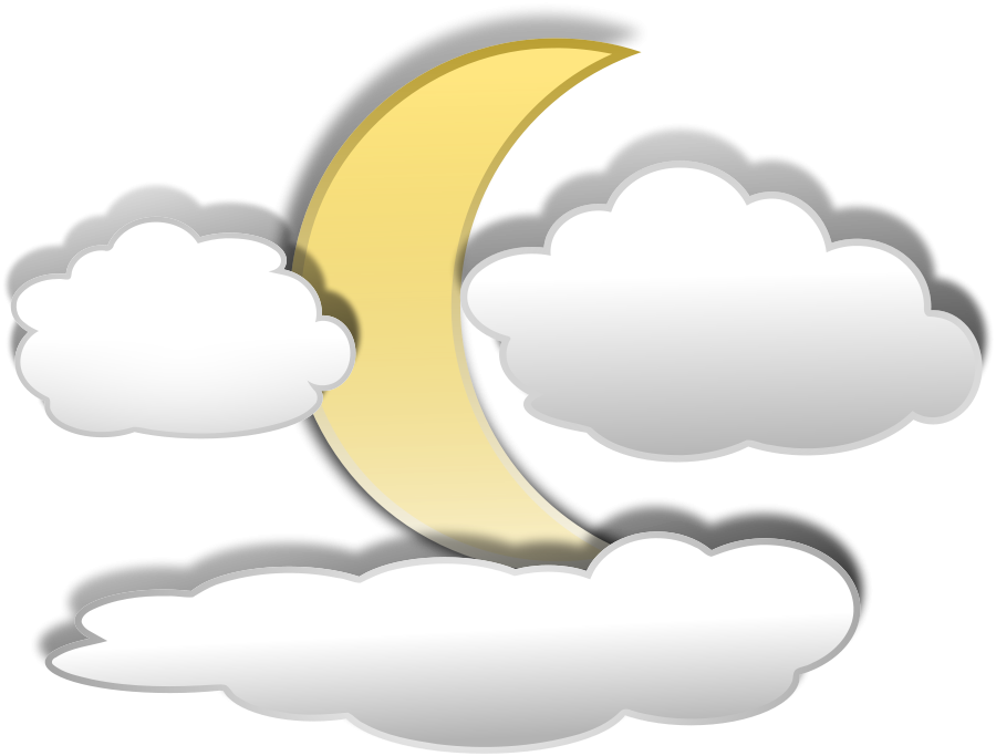 Weather few clouds Clipart, vector clip art online, royalty free ...
