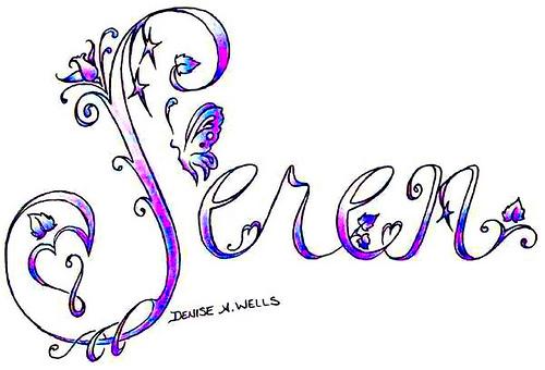 White hawk tattoo for Girly font tattoo