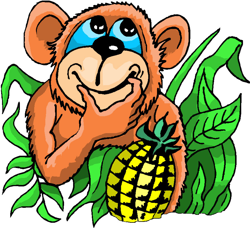 All Cliparts: Monkeys Clipart Gallery
