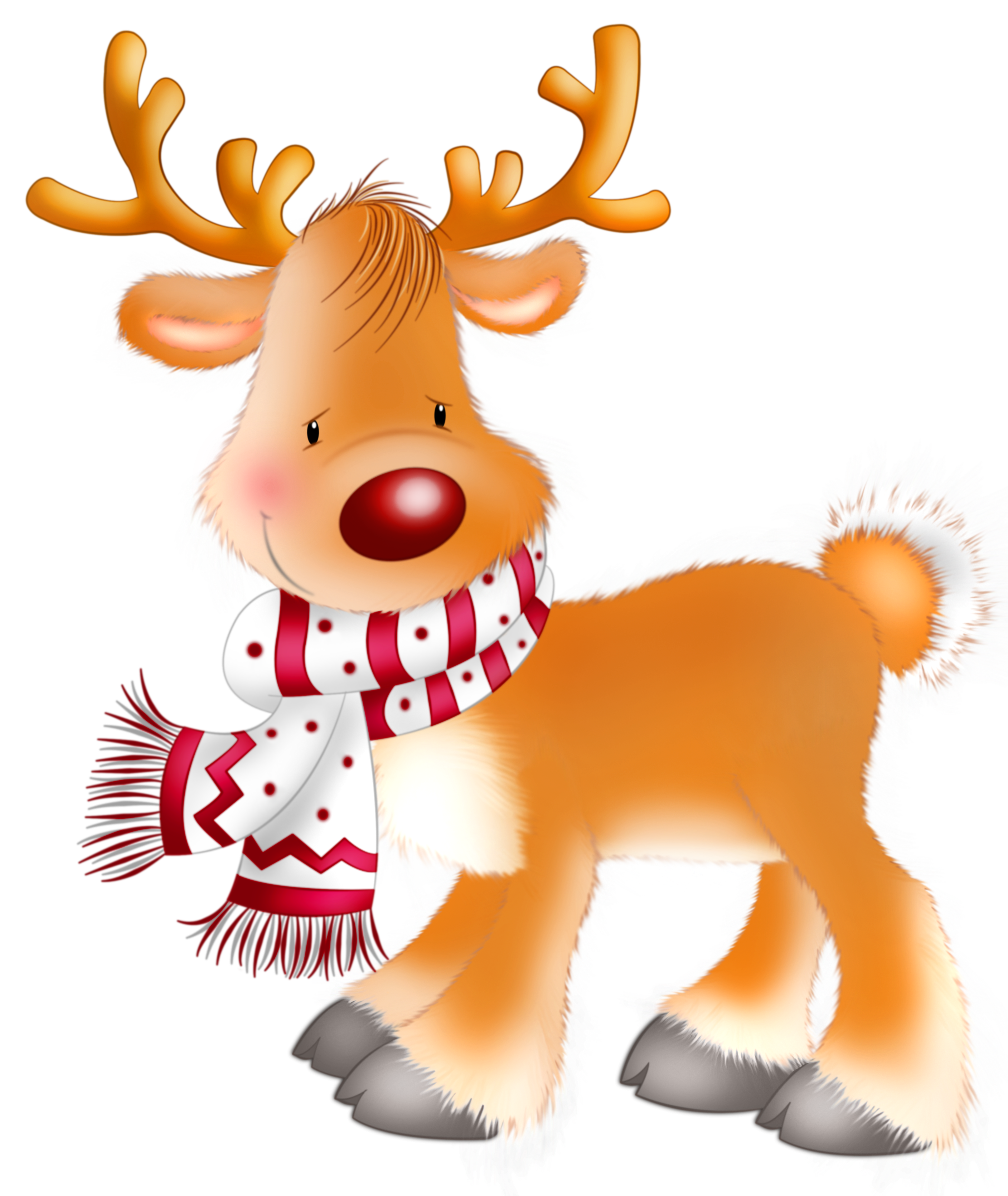 Christmas reindeer clipart - photo#4
