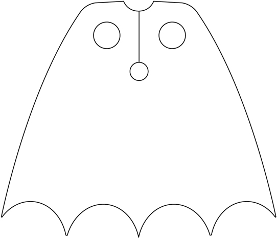 coloring pages batman printable template - photo#33