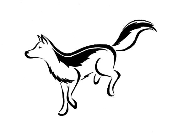 6a4634a7d Running Wolf Tattoo by Tinsel-Shine on deviantART