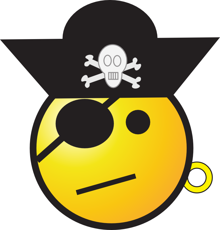 Clipart - Pirate