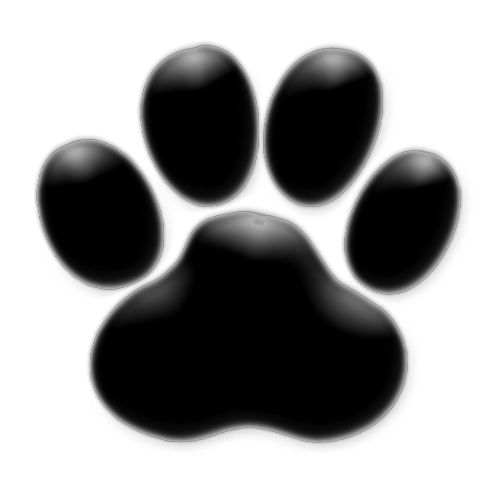 Dog Paw Print Template Cliparts Co