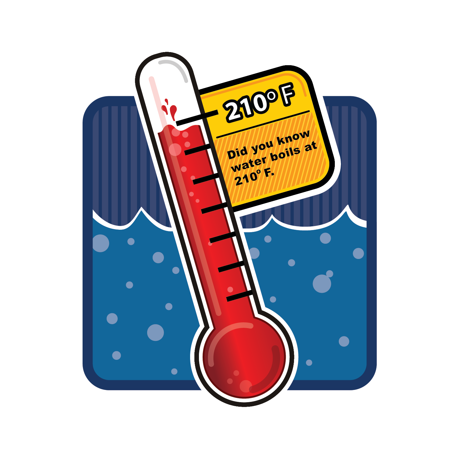 Boiling Point Temperature Clipart