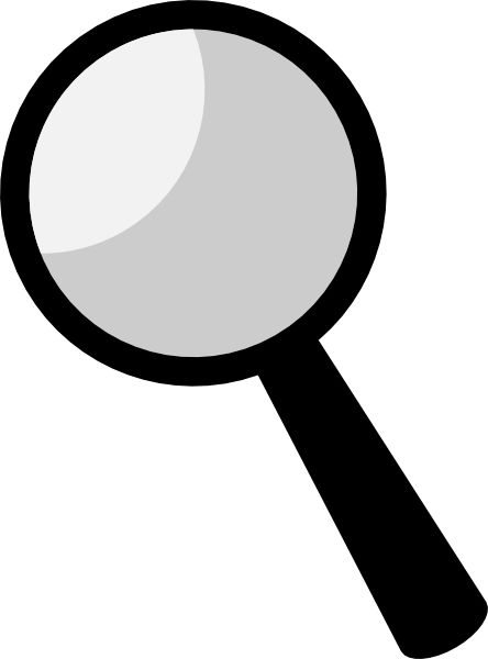 Name in magnifying glass spy | Clipart Panda - Free Clipart Images