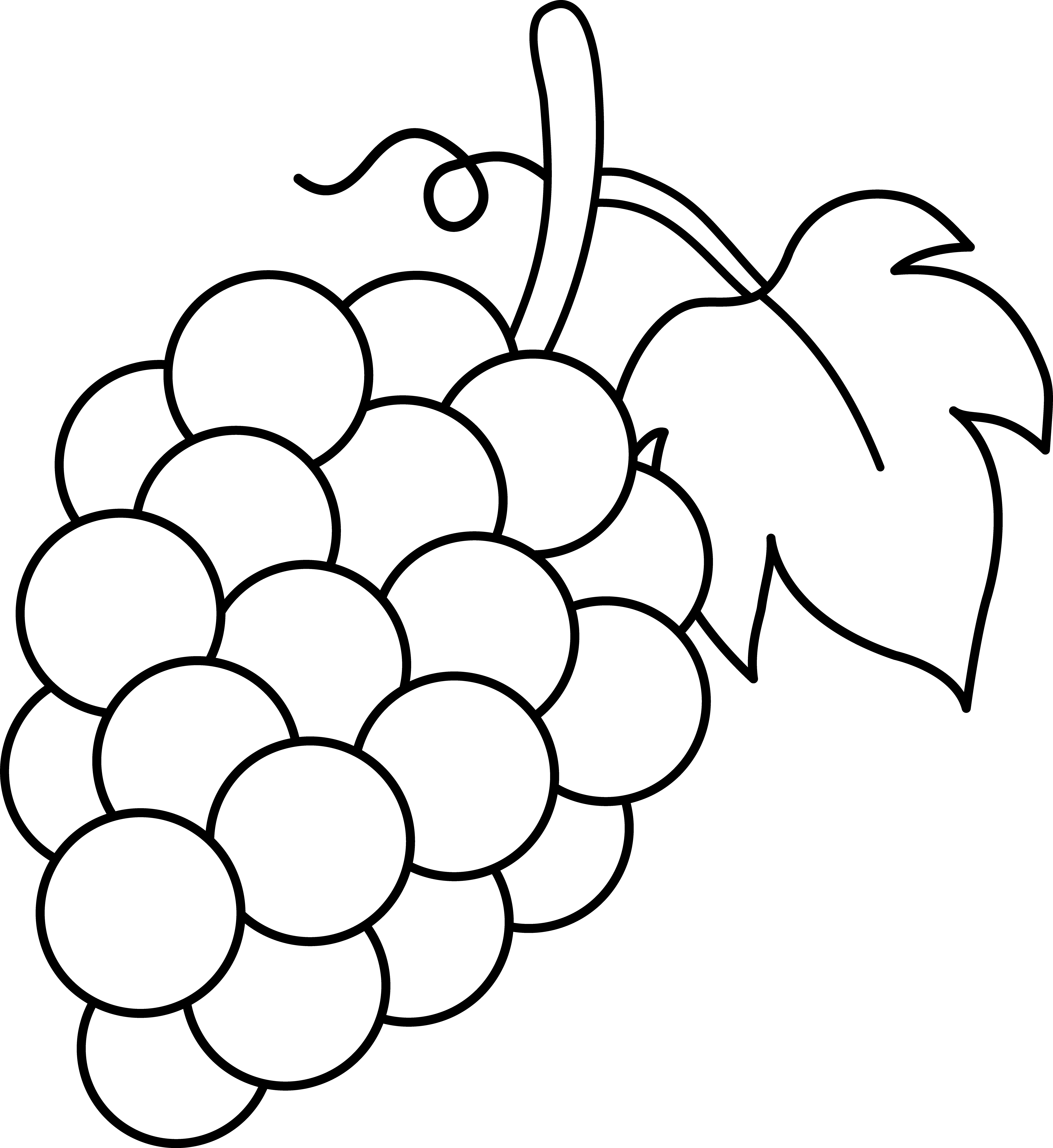 Clipart Of Vegetables In Black And White