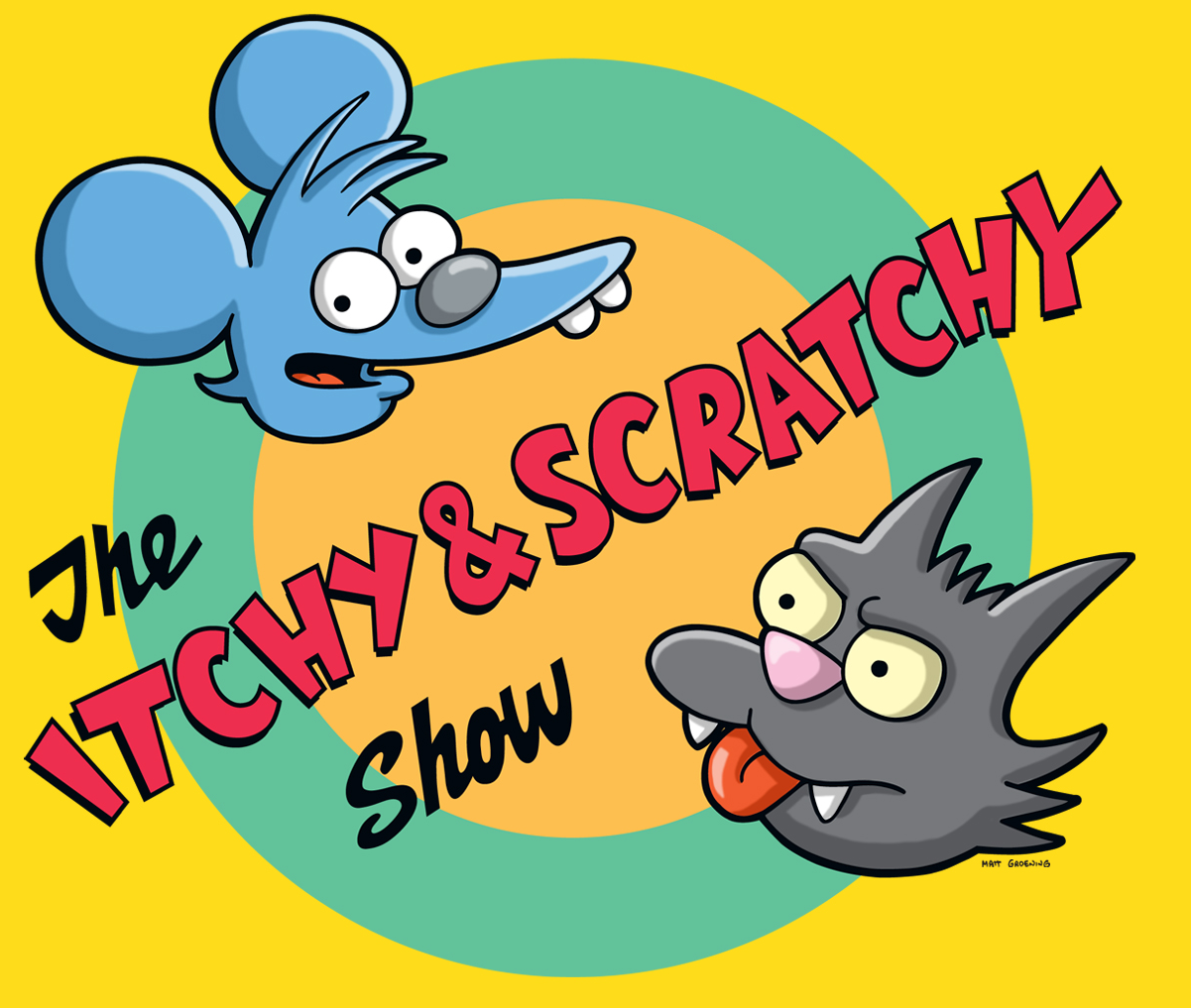 The Itchy Scratchy Show Simpsons Wiki Cliparts Co