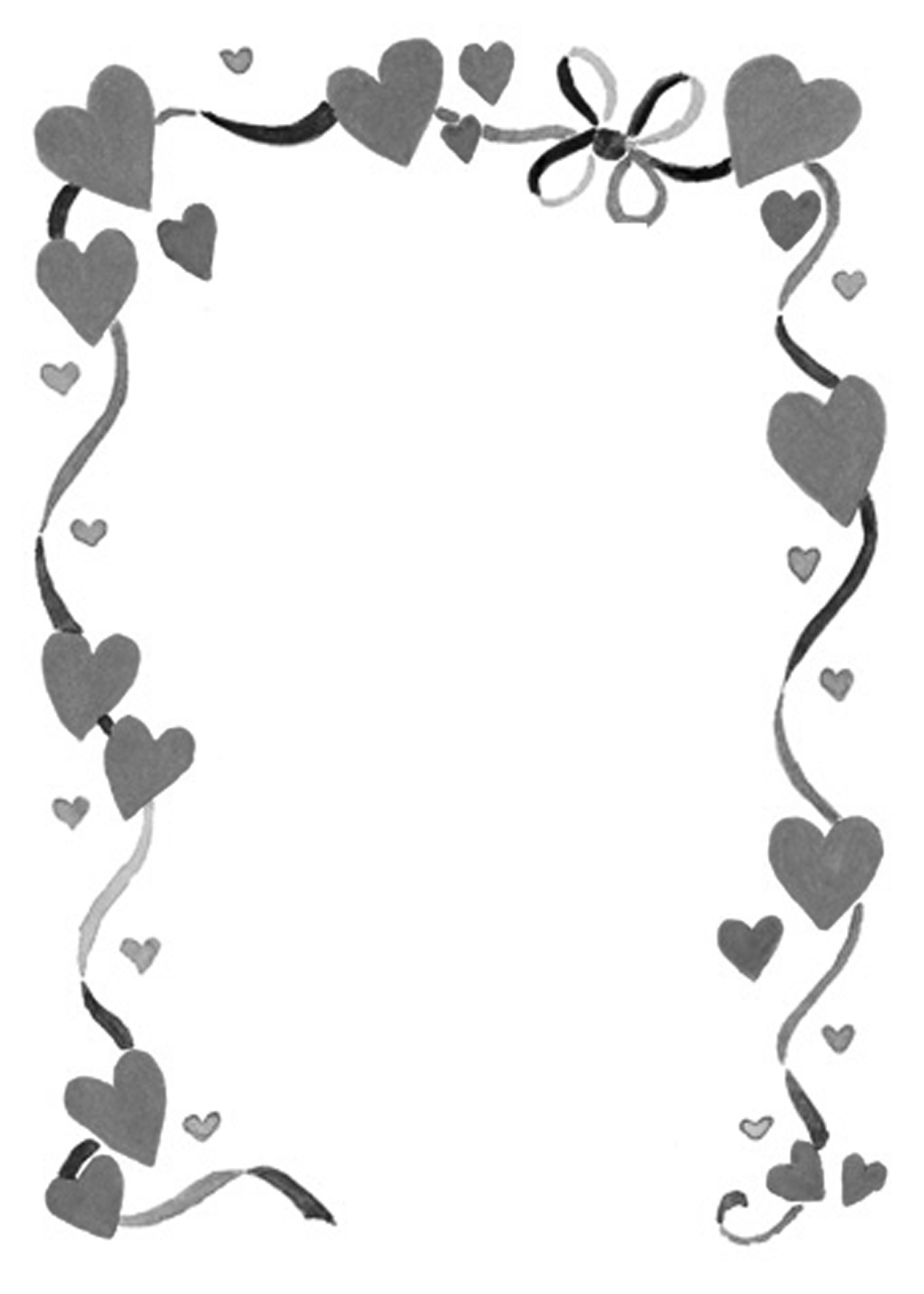 Wedding border design clip art clipart best cliparts co