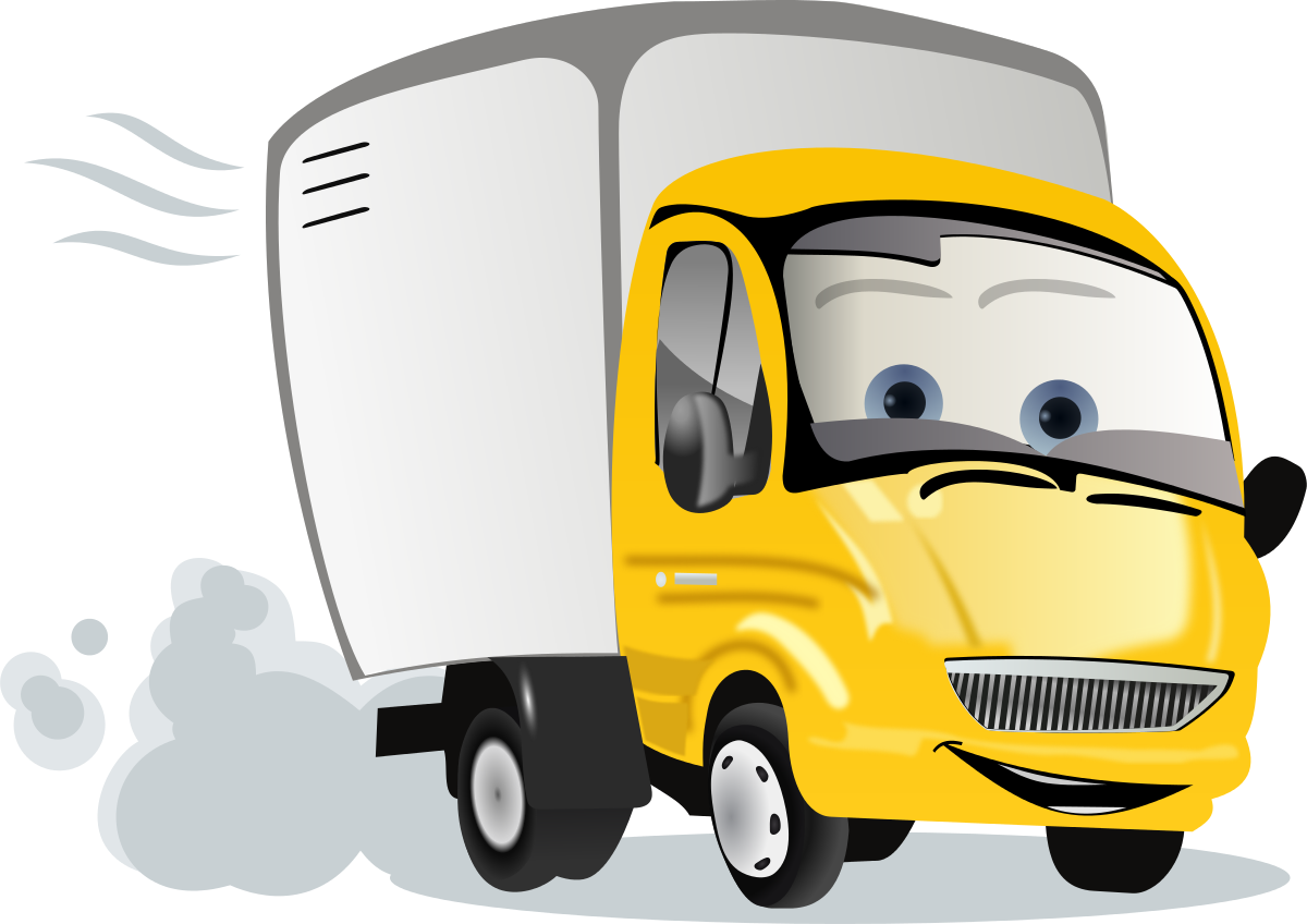 Cartoon Truck Clipart by cyberscooty : Car Cliparts #3338- ClipartSE