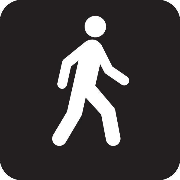 Walking Man Black clip art - vector clip art online, royalty free ...: cliparts.co/walk-clipart