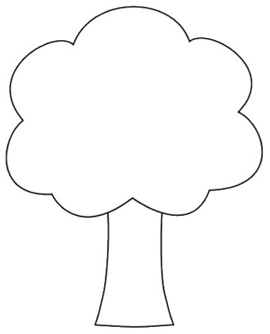 Tree Outline Printable