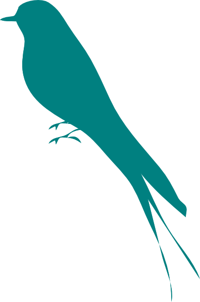 cute bird silhouette clipartsco