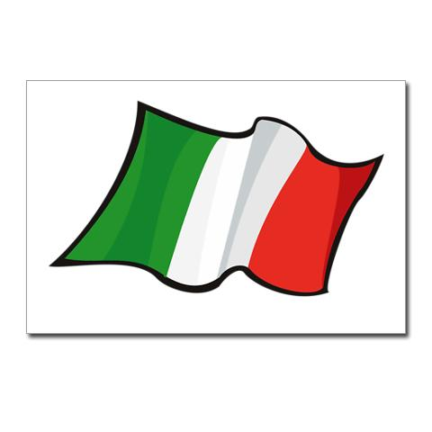 Italian Flag Stationery | Cards, Invitations, Greeting Cards ...