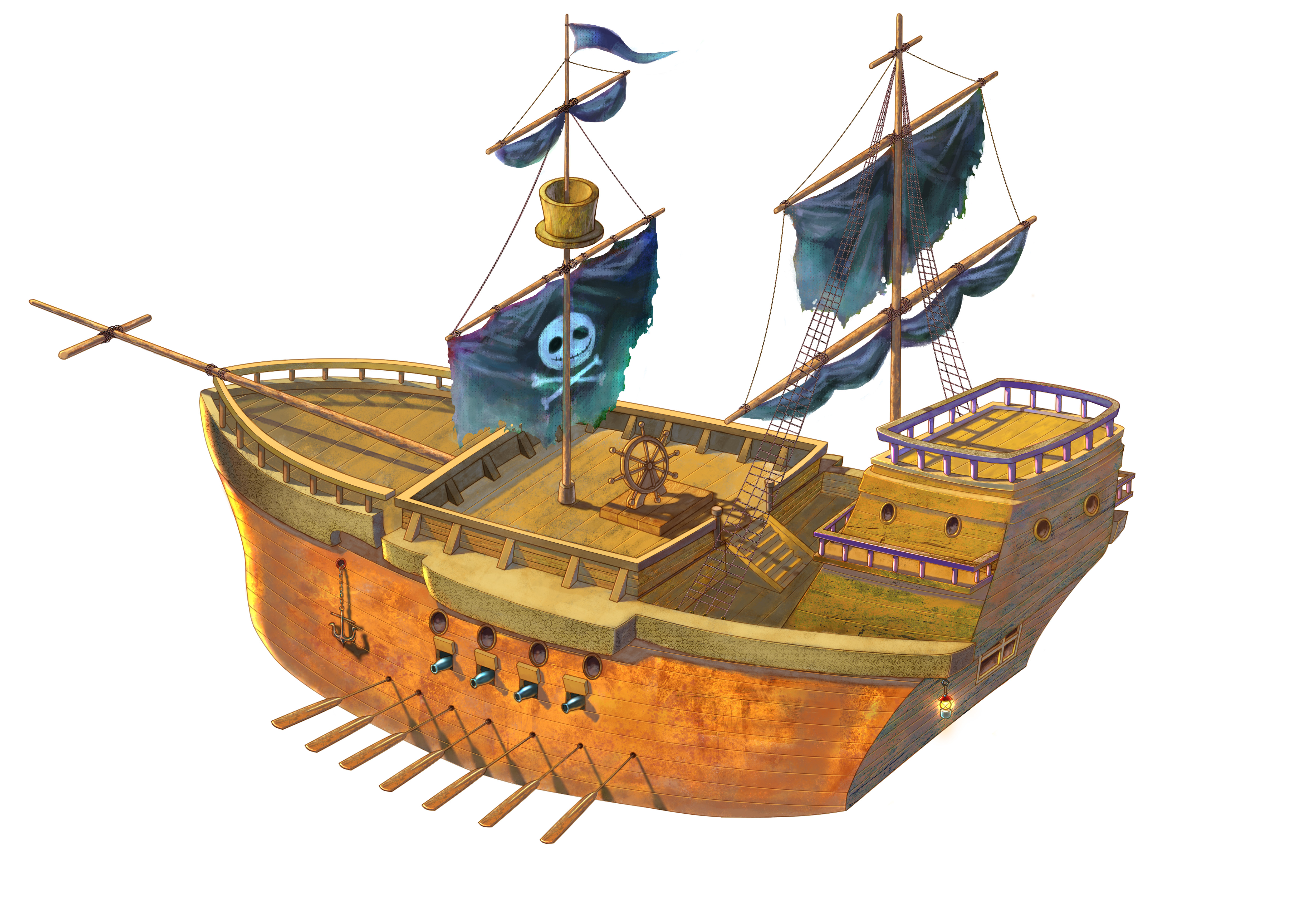Cartoon Pirate Ship - ClipArt Best - Cliparts.co