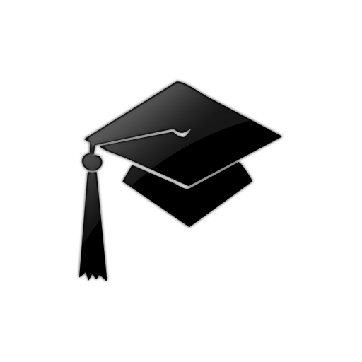 Graduation Cap (Caps) Icon #062553 » Icons Etc