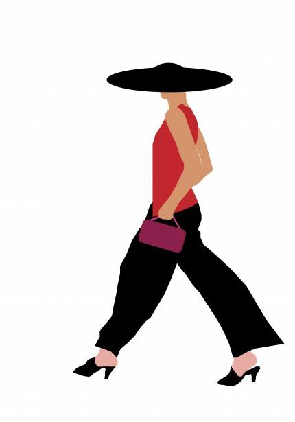 Fashion woman clipart free stock photo public domain pictures