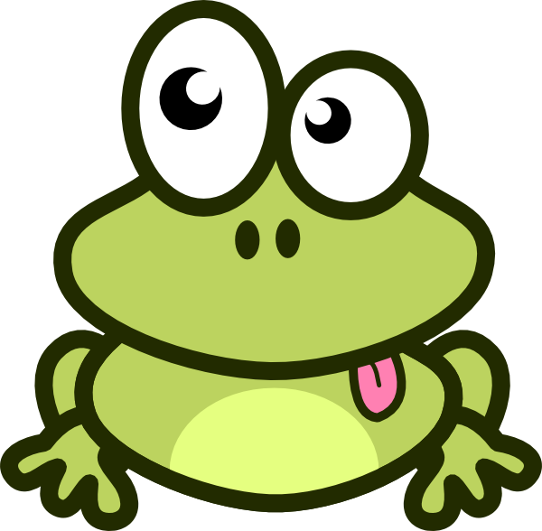 Frog Cartoon clip art - vector clip art online, royalty free ...