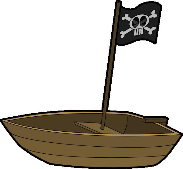 Pirats Boat clip art - vector clip art online, royalty free ...