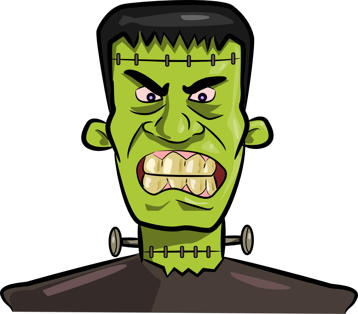 The Totally Free Clip Art Blog: Season - [Halloween] Frankenstein