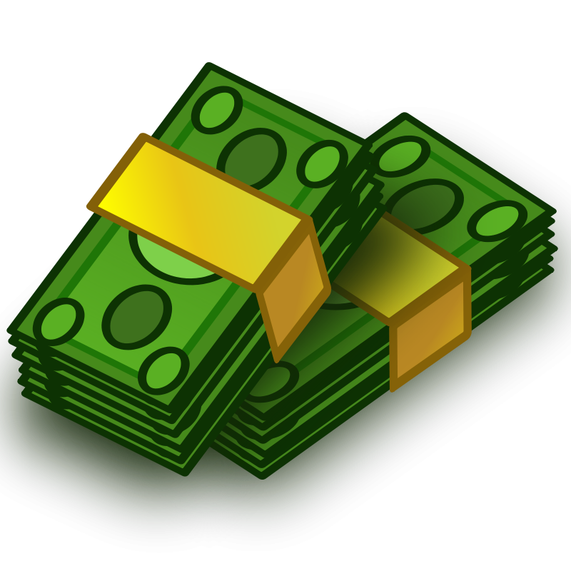 Money Wads Clip Art Download