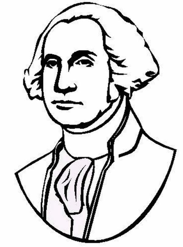 coloring pages of george washington - photo#4