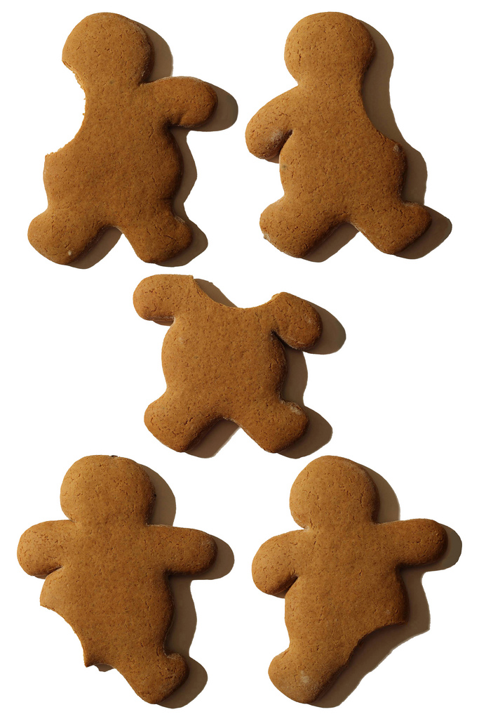 Gingerbread Man, what part do you bite off first? | Flickr - Photo ...