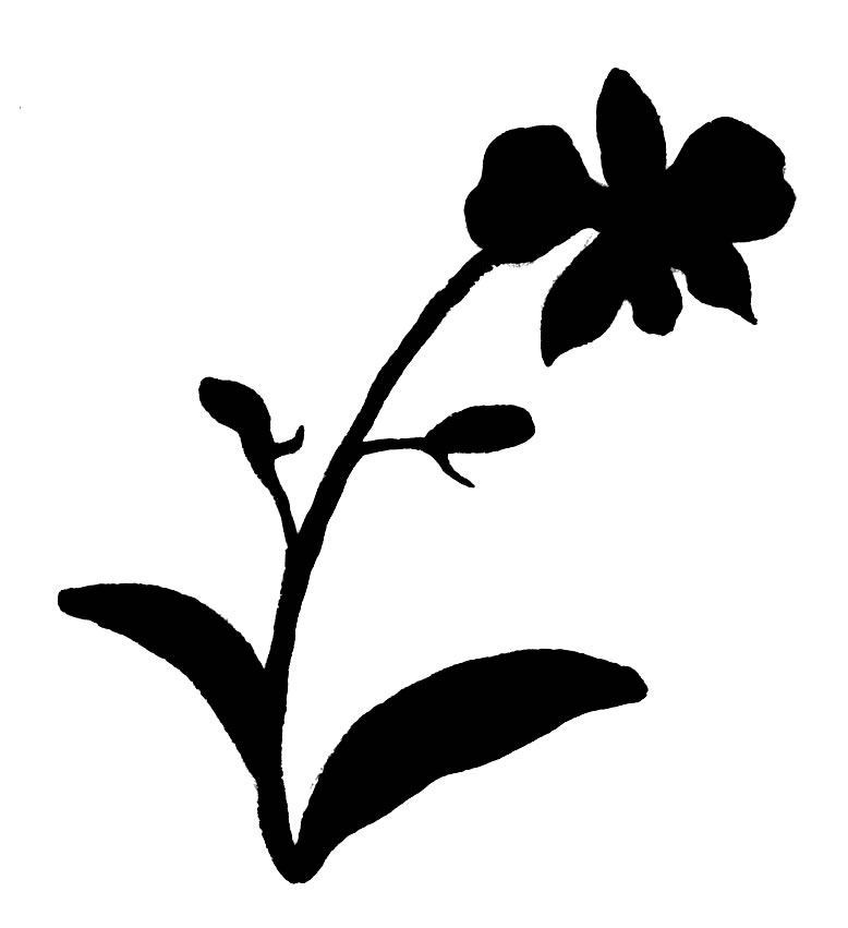 Black And White Leaf Clip Art - Cliparts.co