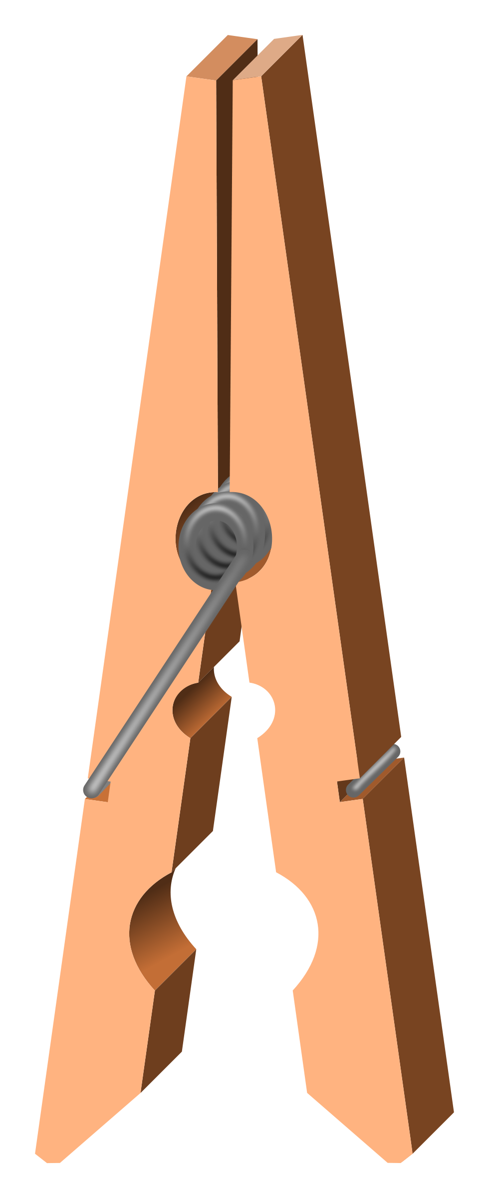 Trends For > Clothes Pin Clip Art - Cliparts.co