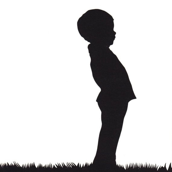 Silhouette Of Boy - Cliparts.co - 26.2KB