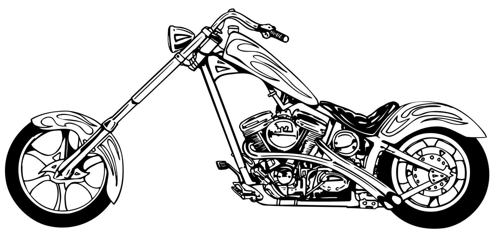 orange coast choppers coloring pages - photo#5