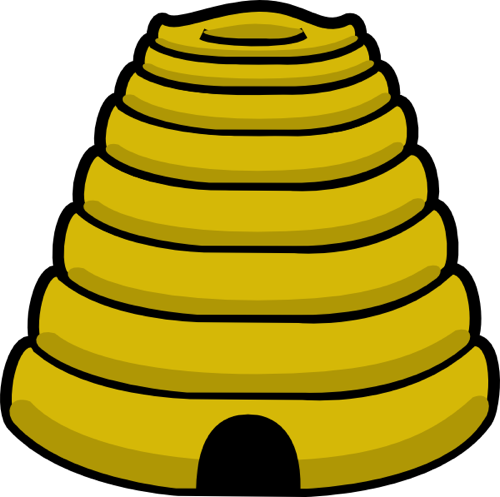 Free Bee Clip Art from the Public Domain