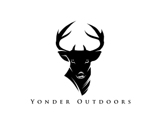 Clothing brand logo animal head
