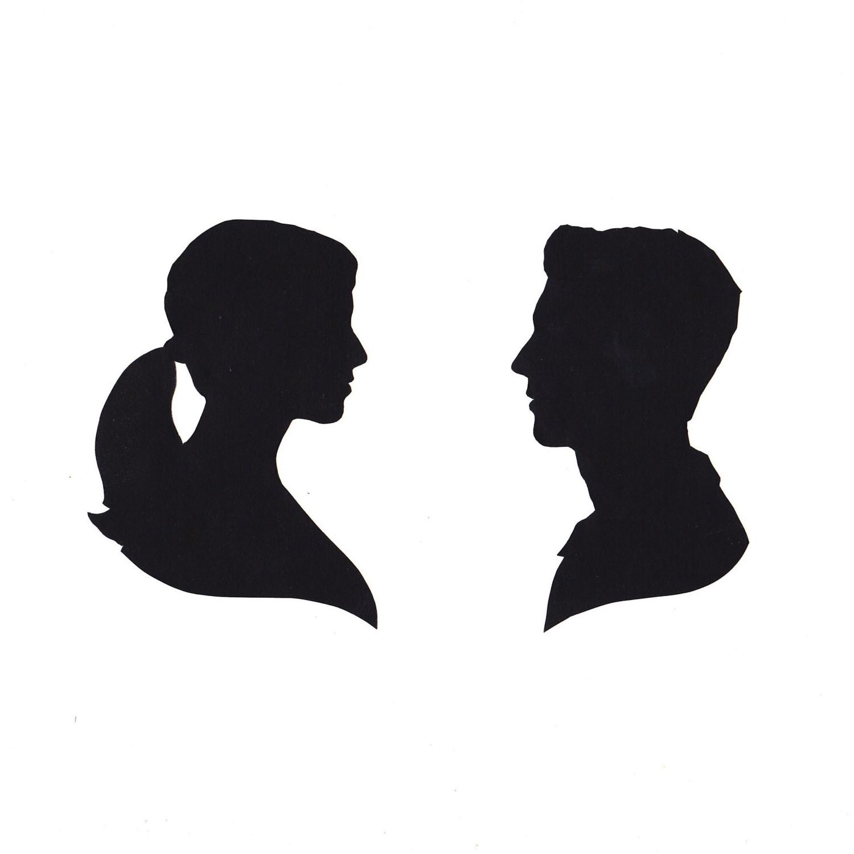Woman Head Silhouette - Cliparts.co