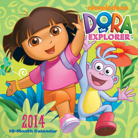 Dora The Explorer - 2014 Calendar Calendars at AllPosters.com